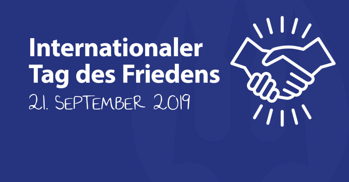 Internationaler Tag des Friedens WATER.FOUNDATION